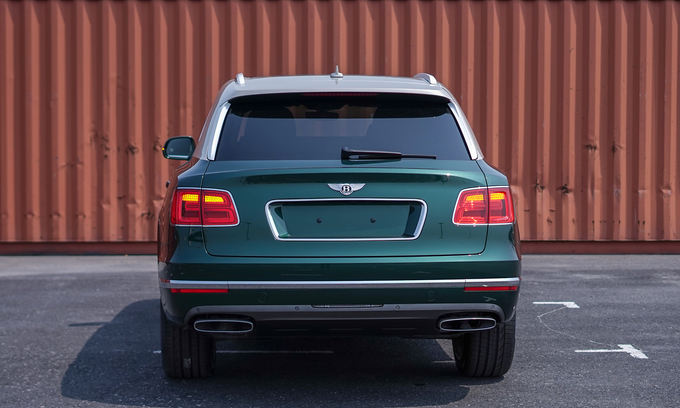 Thú chơi xe - SUV siêu sang Bentley Bentayga màu cực hiếm bất ngờ về Việt Nam (Hình 8).