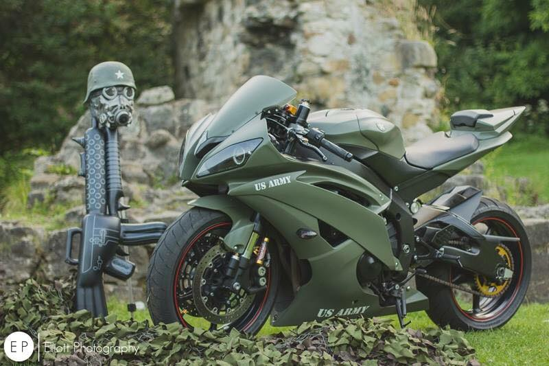 Thú chơi xe - Yamaha R6 lạ lẫm trong 'bộ cánh' lính đánh thuê (Hình 3).