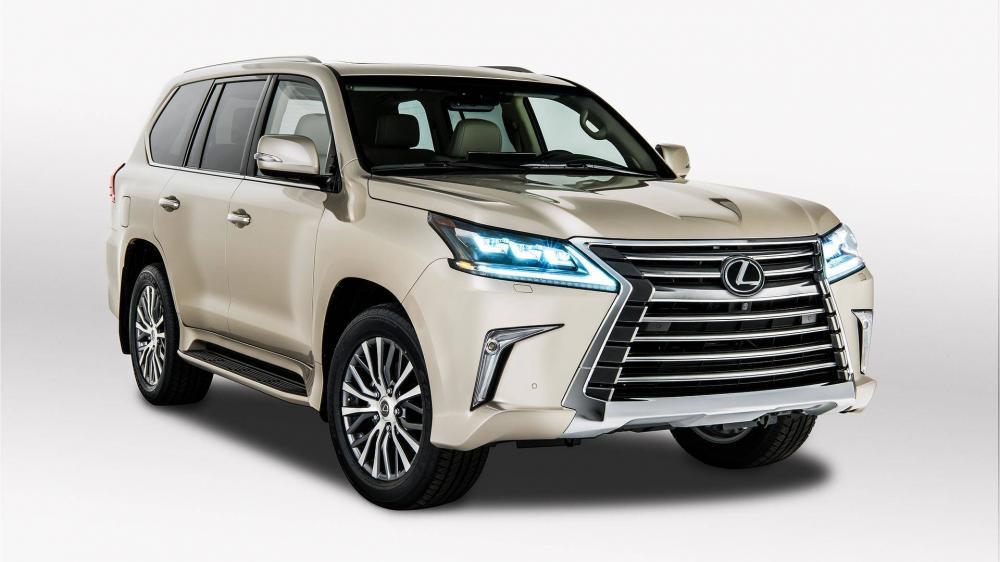 """Thị trường xe - """"Chuyên cơ mặt đất' Lexus LX570 2018 chốt giá chính thức cho bản 5 chỗ ngồi"""