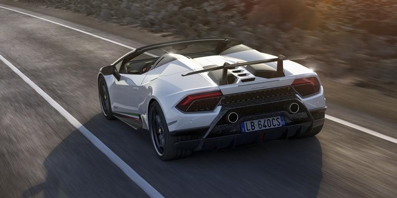 Thị trường xe - 'Siêu bò' mui trần Lamborghini Huracan Performante Spyder chốt giá chính thức (Hình 8).