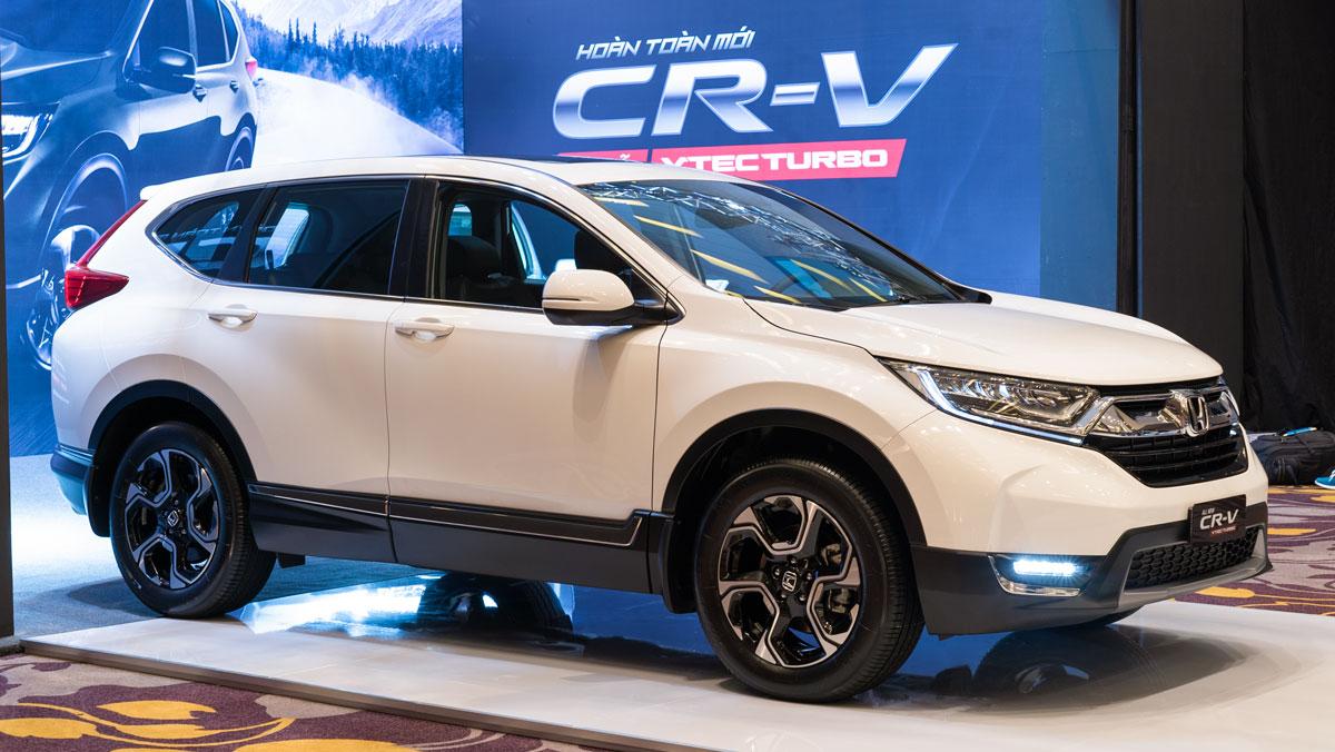 Bảng giá xe - Honda CR-V bất ngờ tăng giá bán trong tháng 4/2018