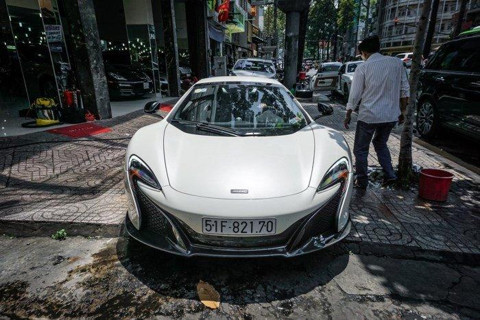 Thú chơi xe - McLaren 650S Spider độc nhất Việt Nam của 'ông trùm' cafe Trung Nguyên bất ngờ tái xuất (Hình 2).