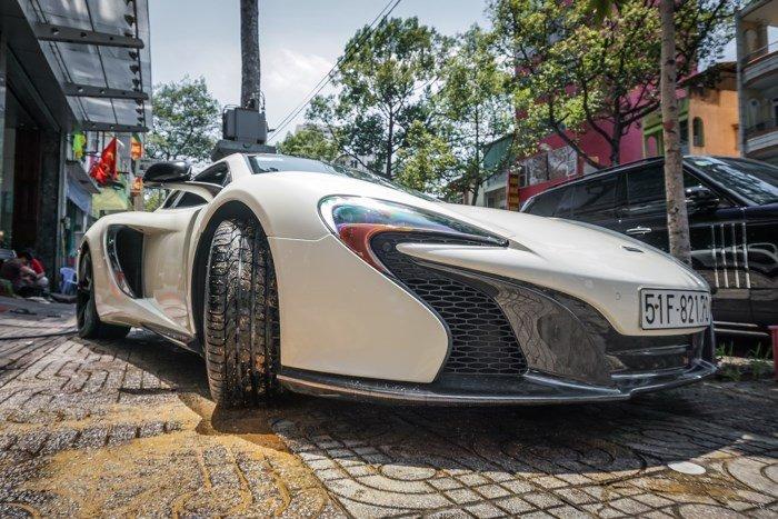 Thú chơi xe - McLaren 650S Spider độc nhất Việt Nam của 'ông trùm' cafe Trung Nguyên bất ngờ tái xuất (Hình 4).