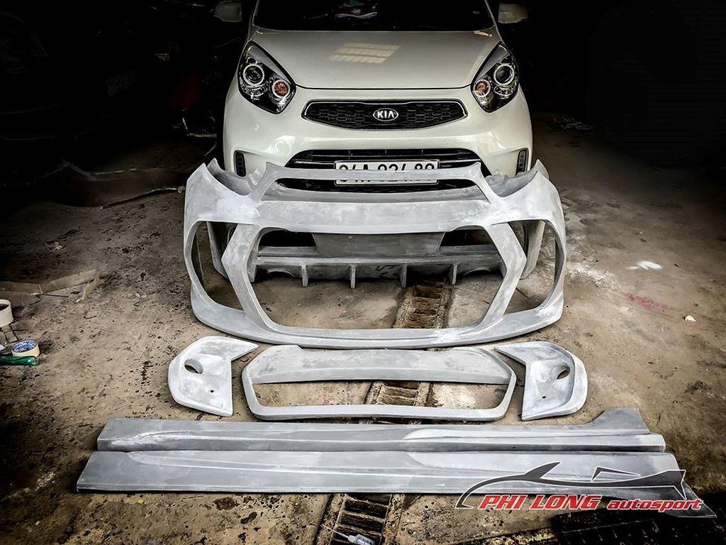 Thú chơi xe -  Kia Morning độ phong cách xe đua cực chất của thợ Việt