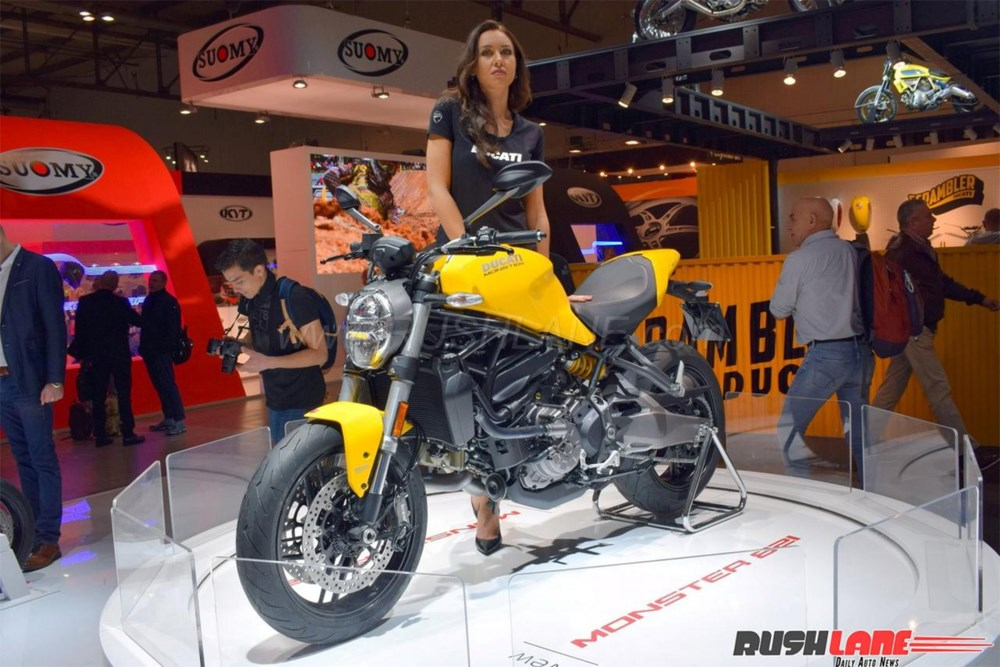 Thị trường xe - Ducati tung Monster 821 thế hệ mới 'dọa nạt' Yamaha MT-09