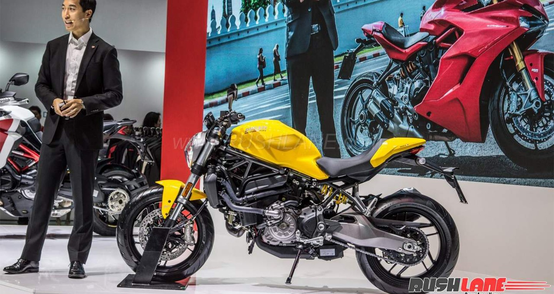 Thị trường xe - Ducati tung Monster 821 thế hệ mới 'dọa nạt' Yamaha MT-09 (Hình 2).