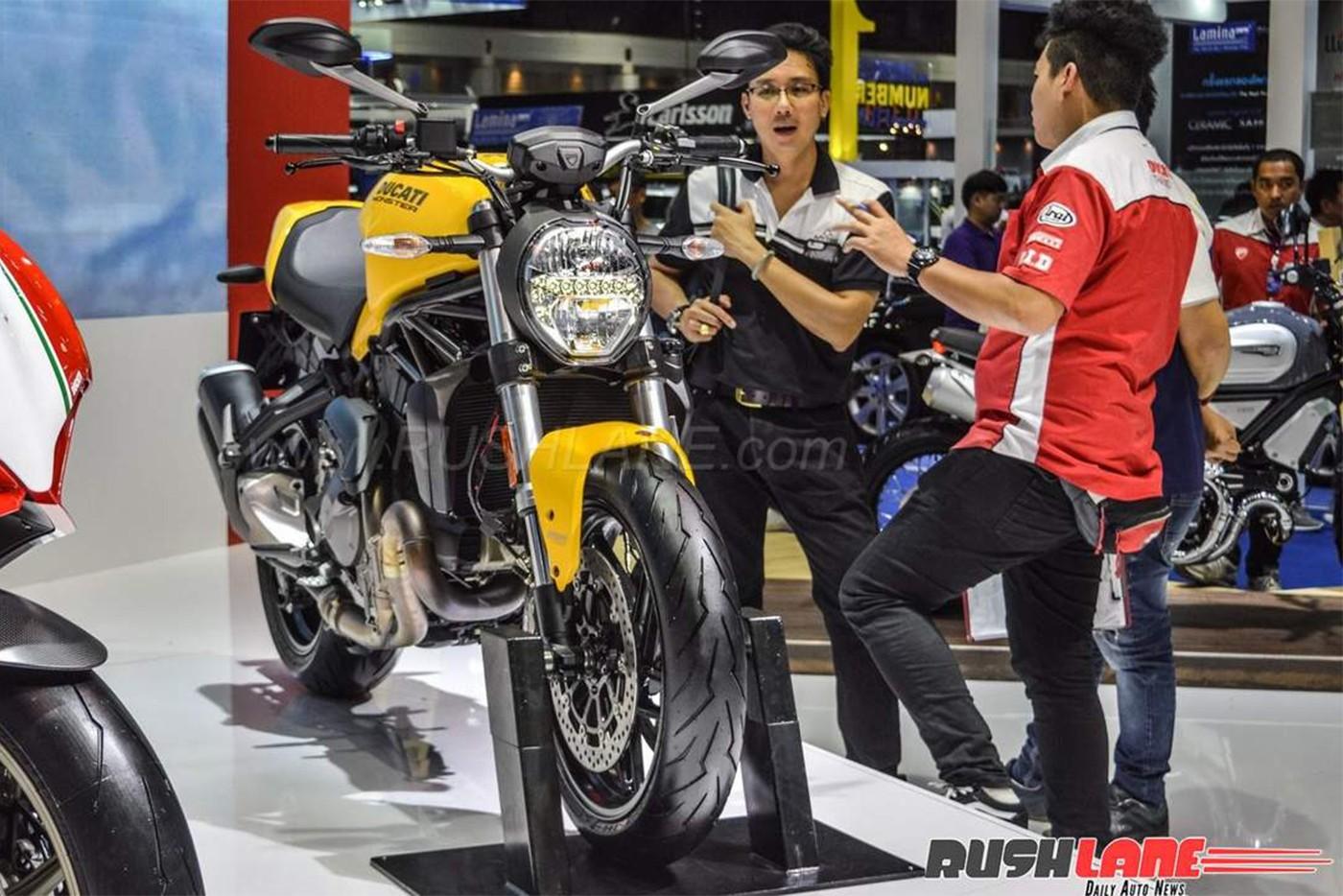 Thị trường xe - Ducati tung Monster 821 thế hệ mới 'dọa nạt' Yamaha MT-09 (Hình 5).