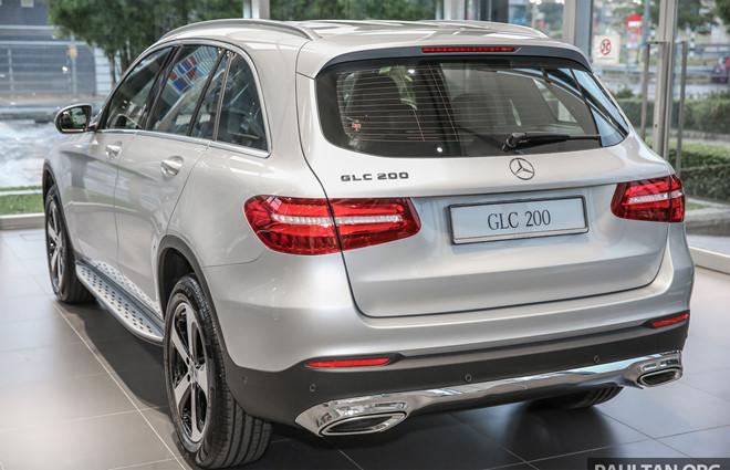 Thị trường xe - Xem trước Mercedes-Benz GLC 200 sắp về Việt Nam (Hình 3).