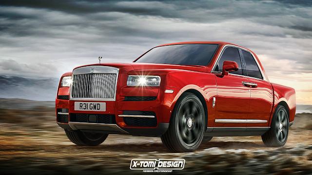 Thị trường xe - Xe bán tải Rolls-Royce có hình hài ra sao? (Hình 2).