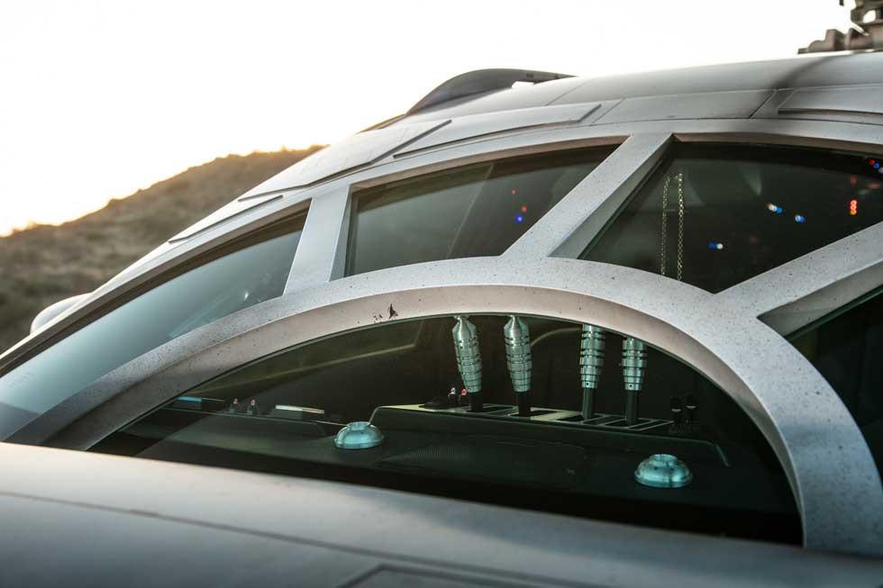 Thú chơi xe - Nissan Rouge lột xác thành 'phi thuyền vũ trụ' (Hình 5).