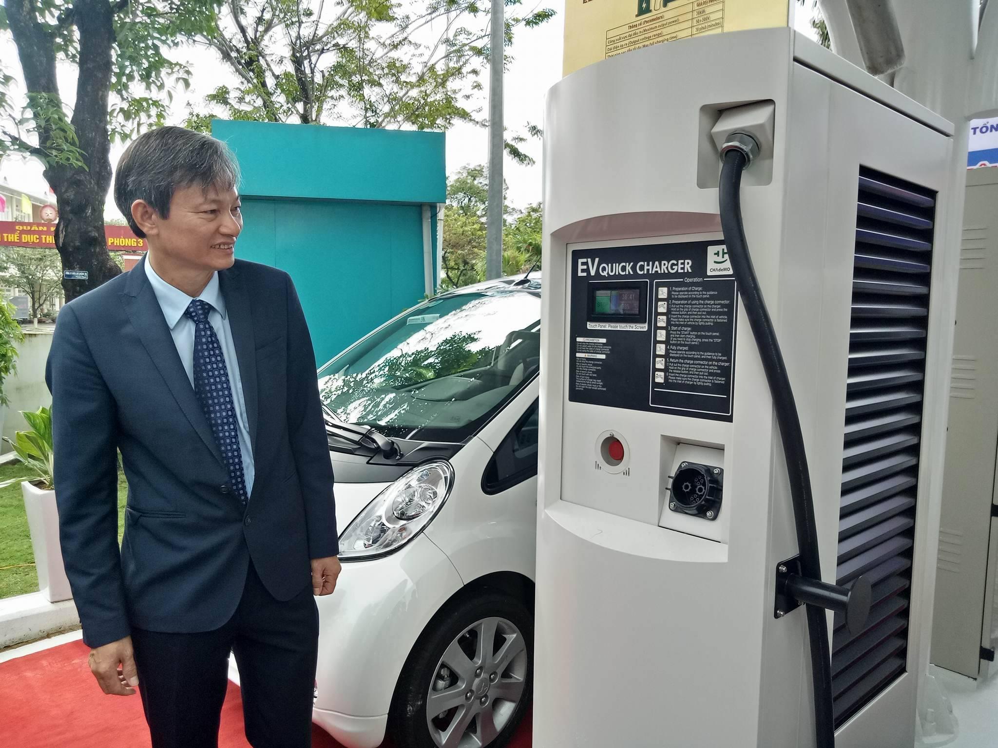 Cuộc sống xanh - Vận hành xe ô tô điện, trạm sạc điện nhanh đầu tiên tại Việt Nam (Hình 2).