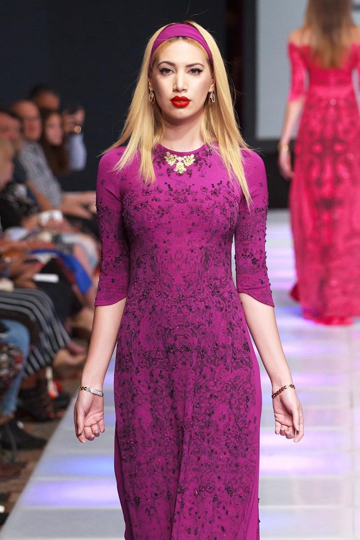 Giải trí - Khai mạc New York Couture Fashion Week, NTK Việt tạo tiếng vang lớn (Hình 9).