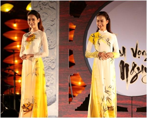 Giải trí - Hồn Việt bừng sáng trong bộ sưu tập áo dài Thu vọng Nguyệt (Hình 5).