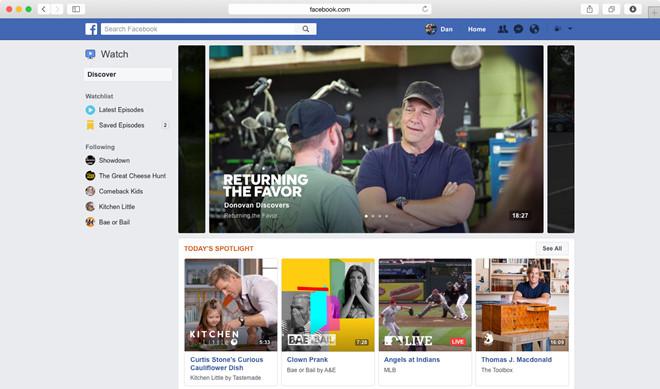 Sản phẩm - Facebook ra mắt Watch hòng 'chiếm ngôi' YouTube