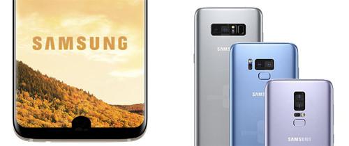 Công nghệ - Chắc chắn Galaxy S9 sẽ khoét màn hình để đặt cảm biến vân tay