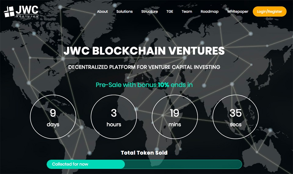 Cuộc sống số - JWC Ventures ra mắt tiền kỹ thuật số chuyên dùng cho đầu tư mạo hiểm