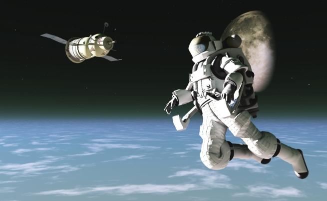 Cuộc sống số - Thể chất của bạn bị ảnh hưởng thế nào khi ở ngoài không gian?
