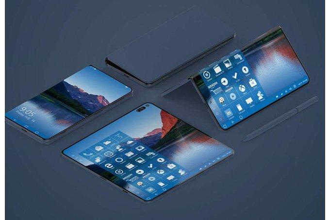 Sản phẩm - Microsoft sẽ ra mắt Surface Phone màn hình gập trong năm nay?