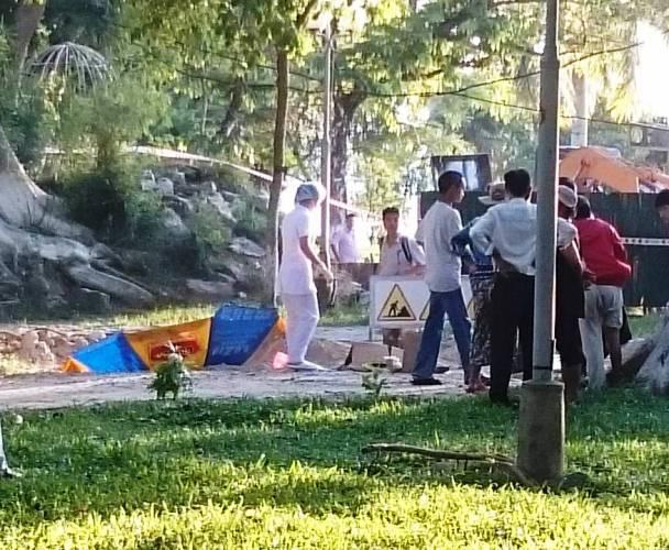 Chính trị - Xã hội - Huế: Phát hiện người đàn ông chết gục trong công viên