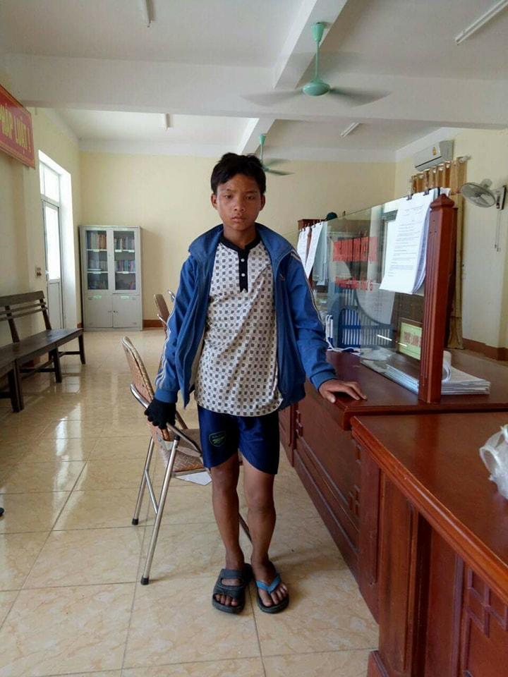 Xã hội - Tìm người thân cho bé trai bị lạc tại Hà Tĩnh (Hình 2).