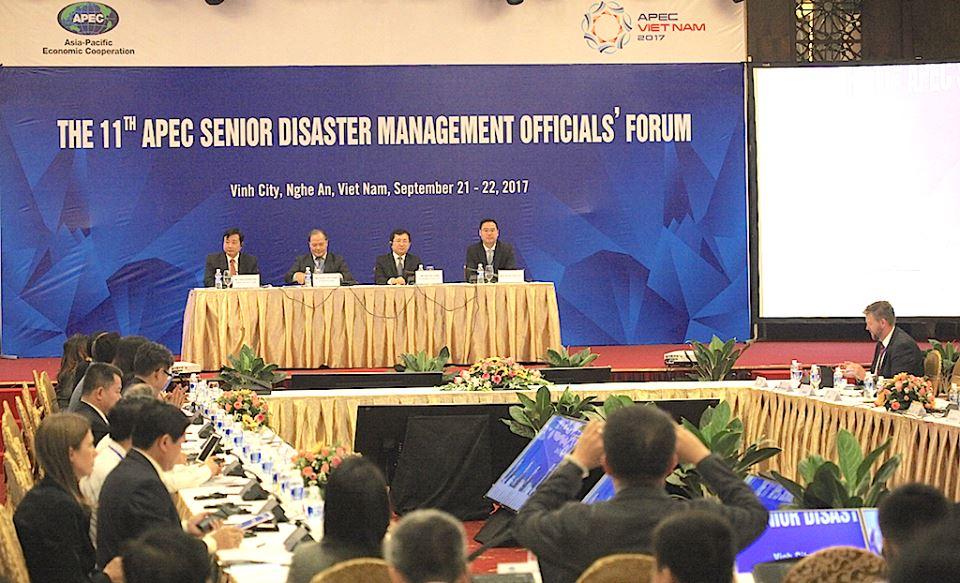 Chính trị - Xã hội - Khai mạc Hội nghị Cấp cao APEC về Quản lý thiên tai lần thứ 11