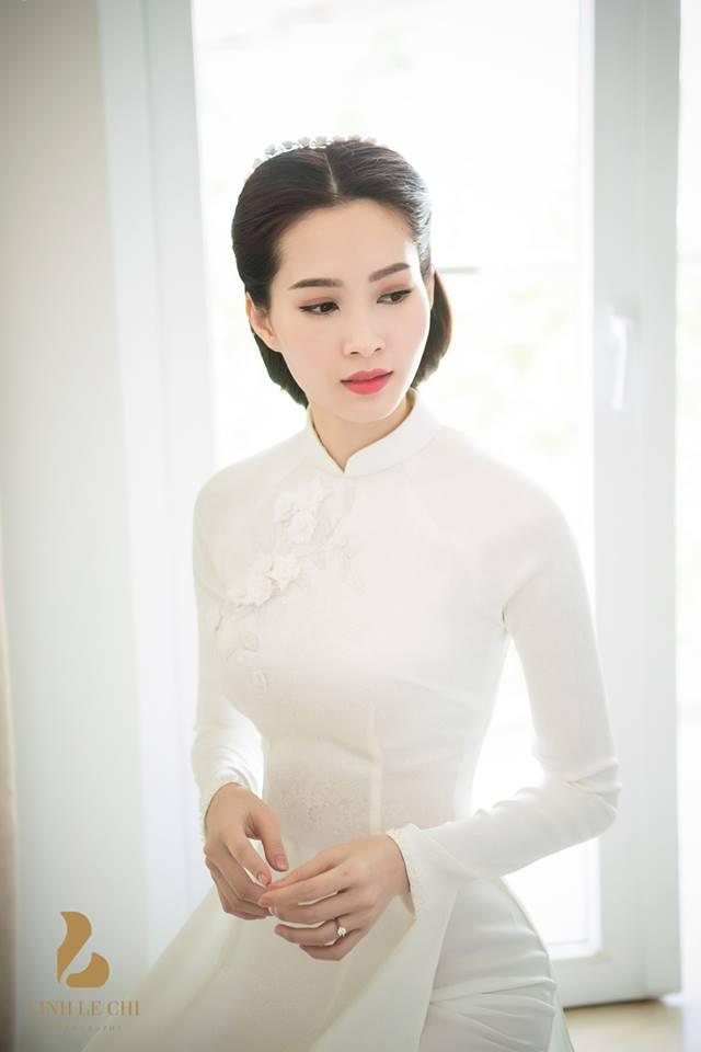 Giải trí - Tiết lộ hậu trường lung linh đám hỏi Hoa hậu Thu Thảo và đại gia Trung Tín (Hình 4).
