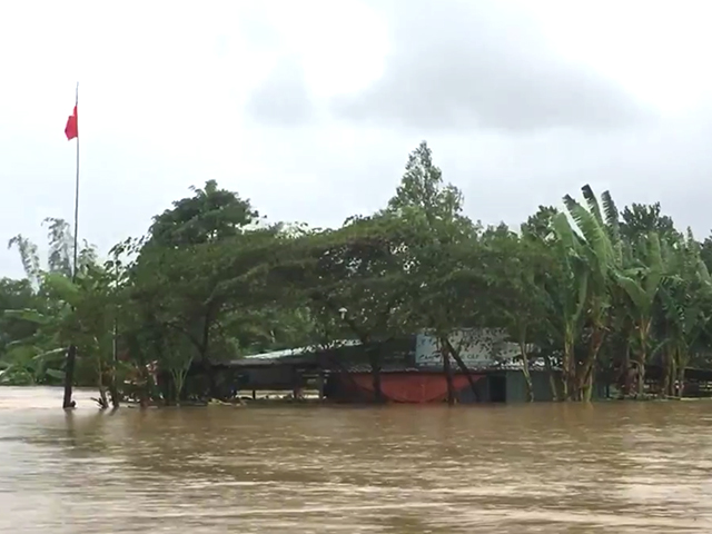 Xã hội - Đà Nẵng: Nhiều nhà dân nước ngập gần mái (Hình 2).