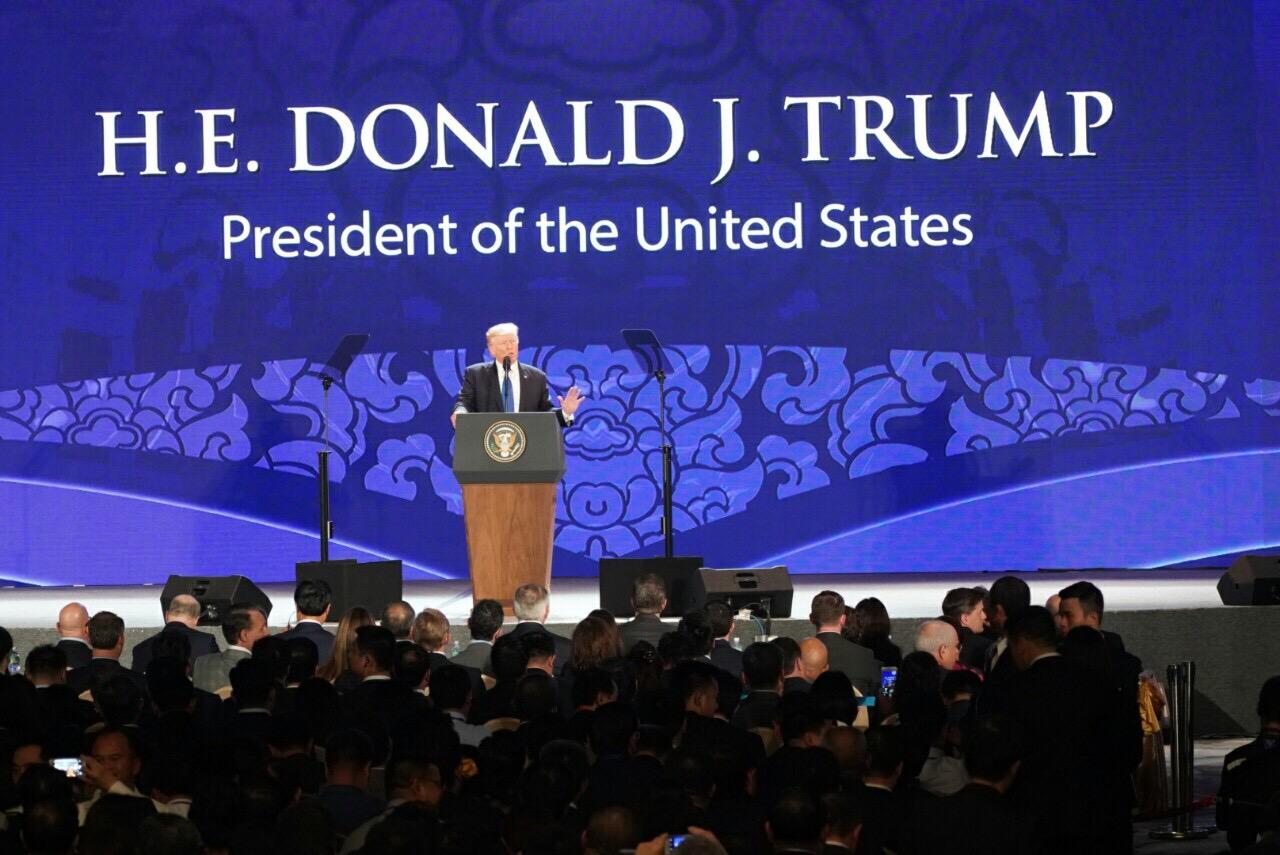 Tiêu điểm - Điểm sáng trong bài phát biểu của TT Trump tại CEO APEC (Hình 3).