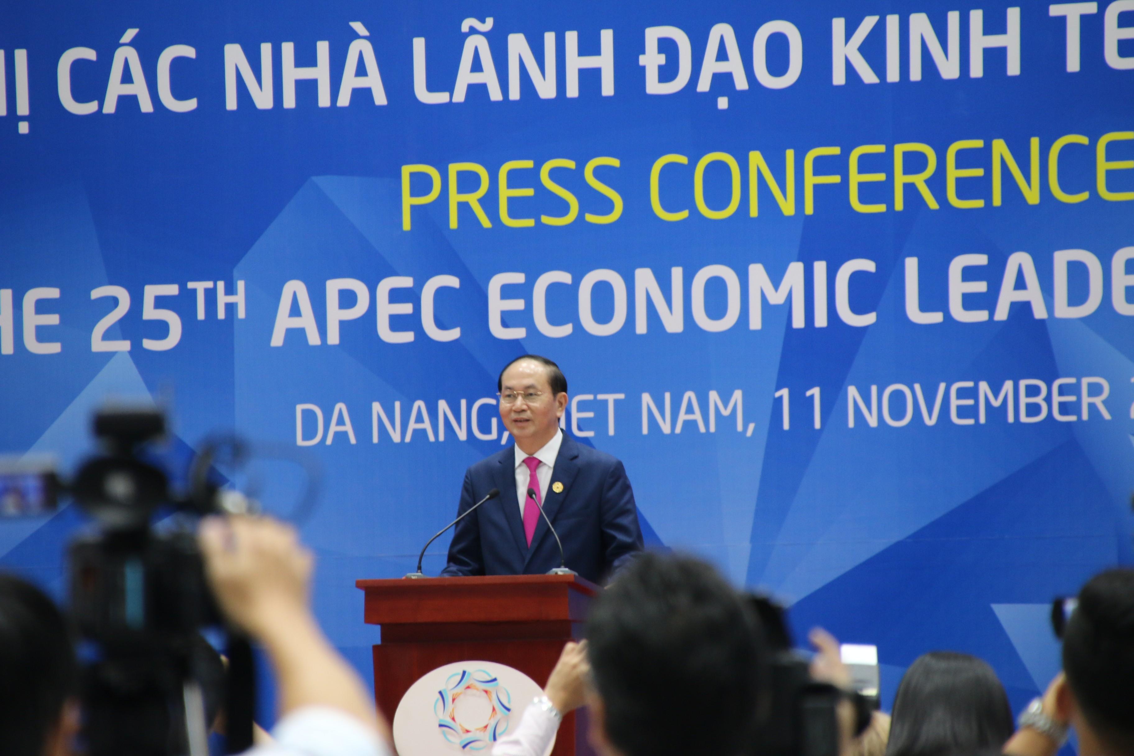 Tin tức - Chính trị - Chủ tịch nước: APEC đã thành công tốt đẹp (Hình 2).
