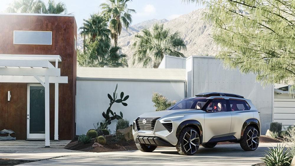 Thị trường xe - Nissan trình làng mẫu SUV thông minh Xmotion Concept (Hình 7).