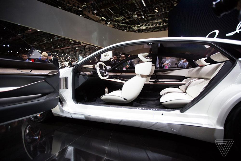 Thị trường xe - Infiniti Q Inspiration Concept trang bị động cơ 'đỉnh' VC-Turbo (Hình 2).