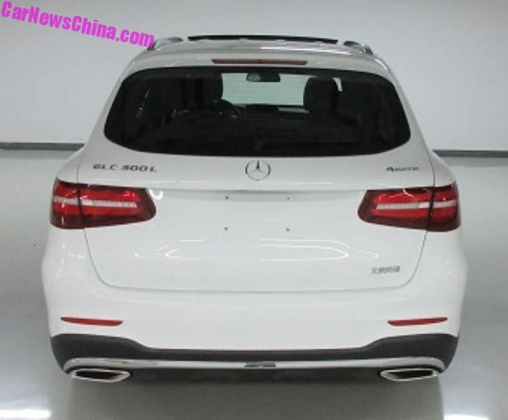 Thị trường xe - Mercedes-Benz GLC thêm bản kéo dài - Đối thủ Audi Q5L (Hình 2).