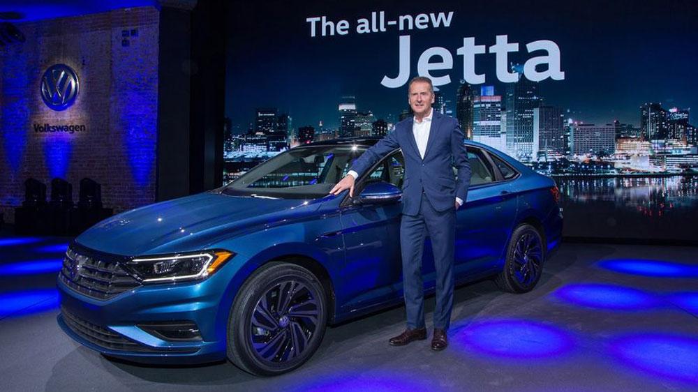 Thị trường xe - Volkswagen Jetta 2019 chính thức lộ diện