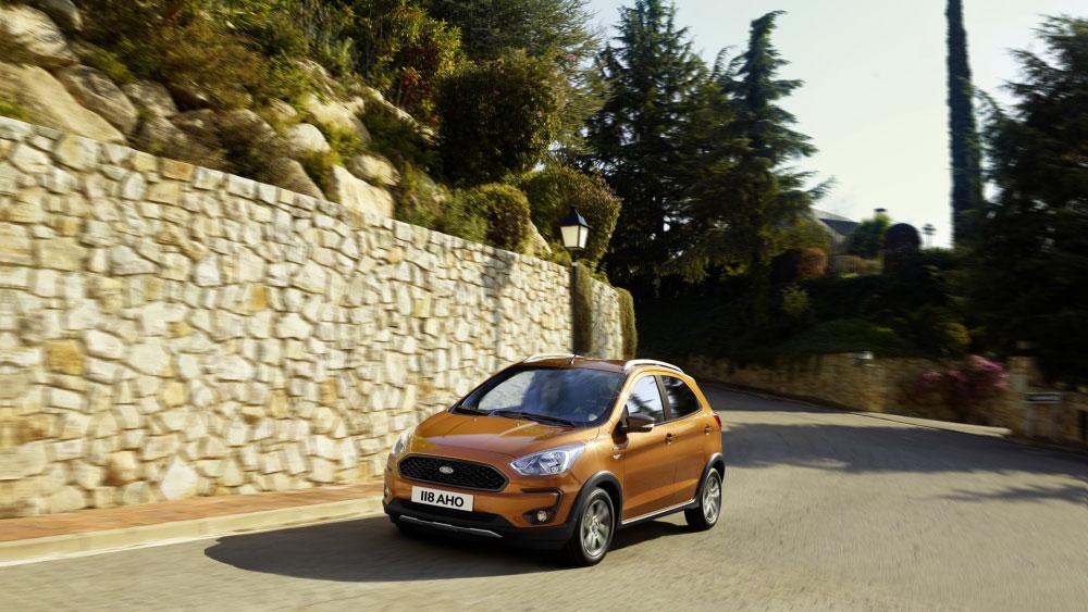 Thị trường xe - Ford Ka+: Đối thủ của Kia Morning ra mắt phiên bản Active (Hình 4).