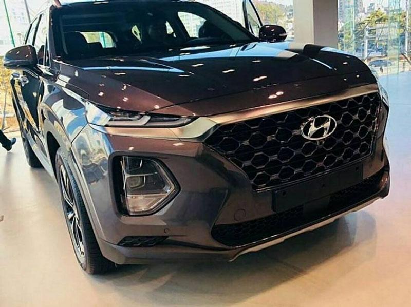 Thị trường xe - Lộ ảnh thực tế Hyundai SantaFe 2019 tại Hàn Quốc (Hình 5).
