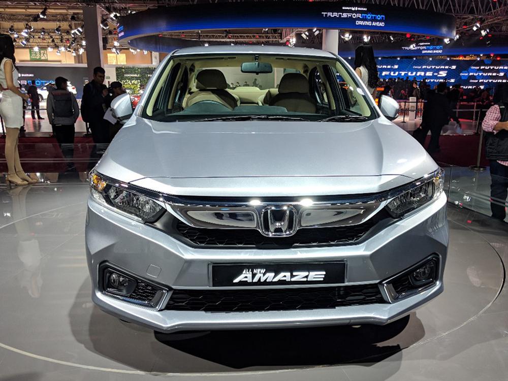 Thị trường xe - Honda Amaze 2018 hoàn toàn mới đấu i10 bản 'hai đầu'