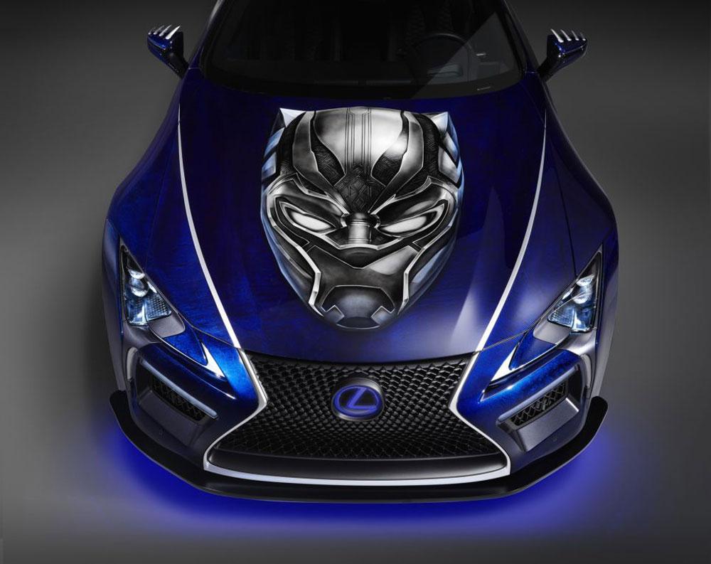 Thị trường xe - Lexus LC500 đẹp chất ngất trong bản độ 'bom tấn Black Panther' (Hình 3).