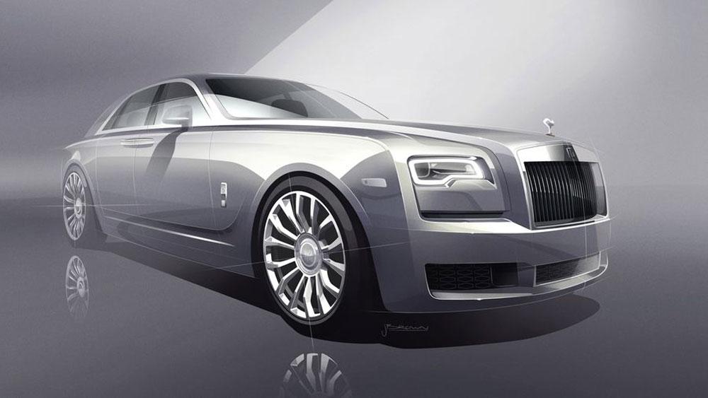 Thị trường xe - 'Bóng ma' Rolls-Royce Ghost bản giới hạn 101 năm lộ diện (Hình 3).
