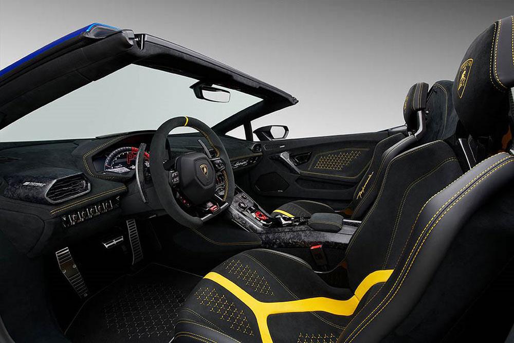 Thị trường xe - Siêu phẩm mui trần Lamborghini Huracan Performante Spyder vén màn lộ diện (Hình 3).