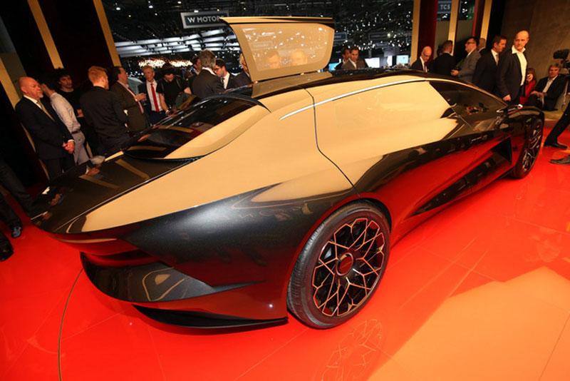 Thị trường xe - Aston Martin Lagonda Vision: Xe sang chạy điện 650km không cần sạc (Hình 4).
