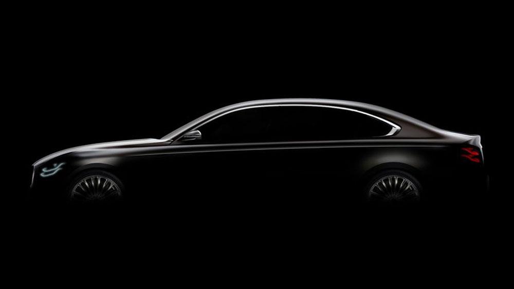 Thị trường xe - Kia 'nhá hàng' sedan đầu bảng K900 đấu S-Class (Hình 3).