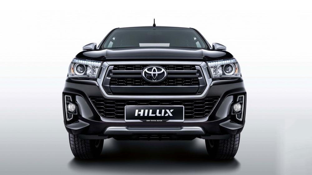 Bán tải Toyota Hilux có thêm bản nâng cấp L-Edition hoàn toàn mới