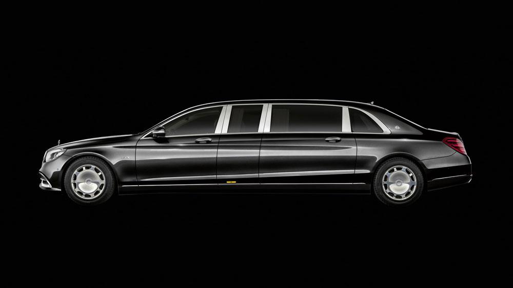 Thị trường xe - Mercedes-Maybach Pullman 2019: Xe sang cho nhà giàu lộ diện (Hình 5).