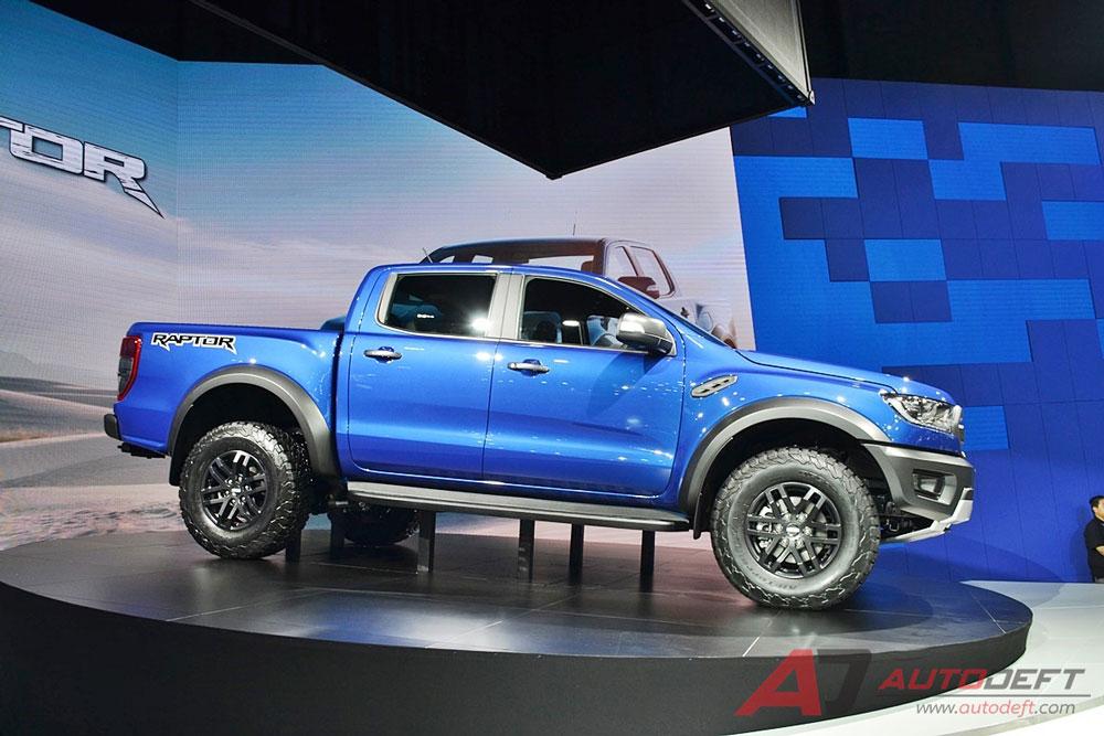 Thị trường xe - 'Siêu bán tải' Ford Ranger Raptor 2018 có giá bán chính thức (Hình 3).