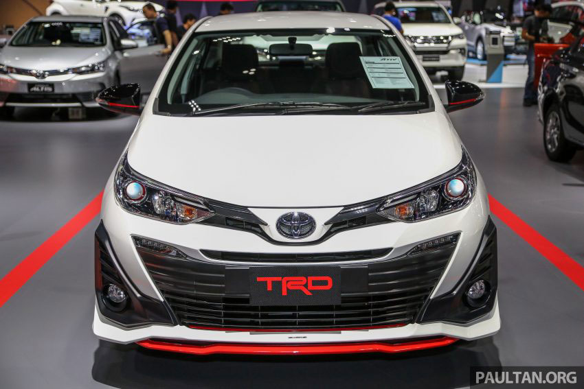 Thị trường xe - Toyota Yaris Ativ TRD 2018 - Một Vios 'chất lừ' với phụ kiện thể thao (Hình 2).