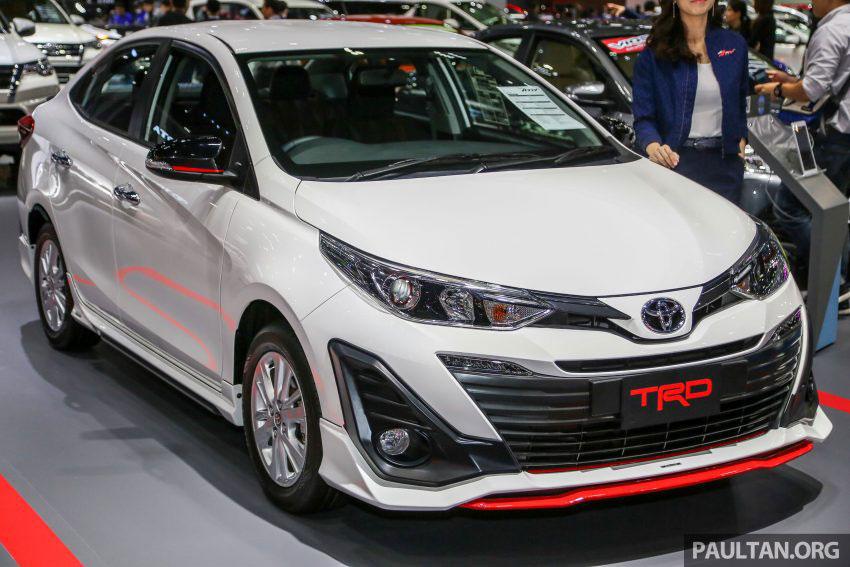 Thị trường xe - Toyota Yaris Ativ TRD 2018 - Một Vios 'chất lừ' với phụ kiện thể thao