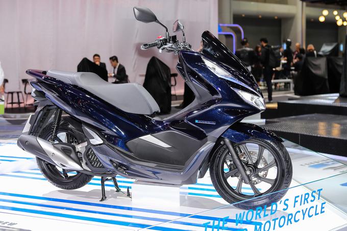 Thị trường xe - Honda PCX Hybrid - Xe máy chạy xăng lai điện đầu tiên trên thế giới
