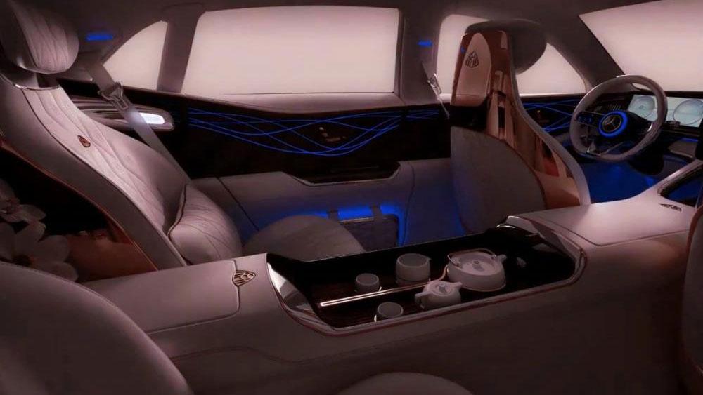 Thị trường xe - SUV siêu sang Vision Mercedes-Maybach Ultimate Luxury lộ diện