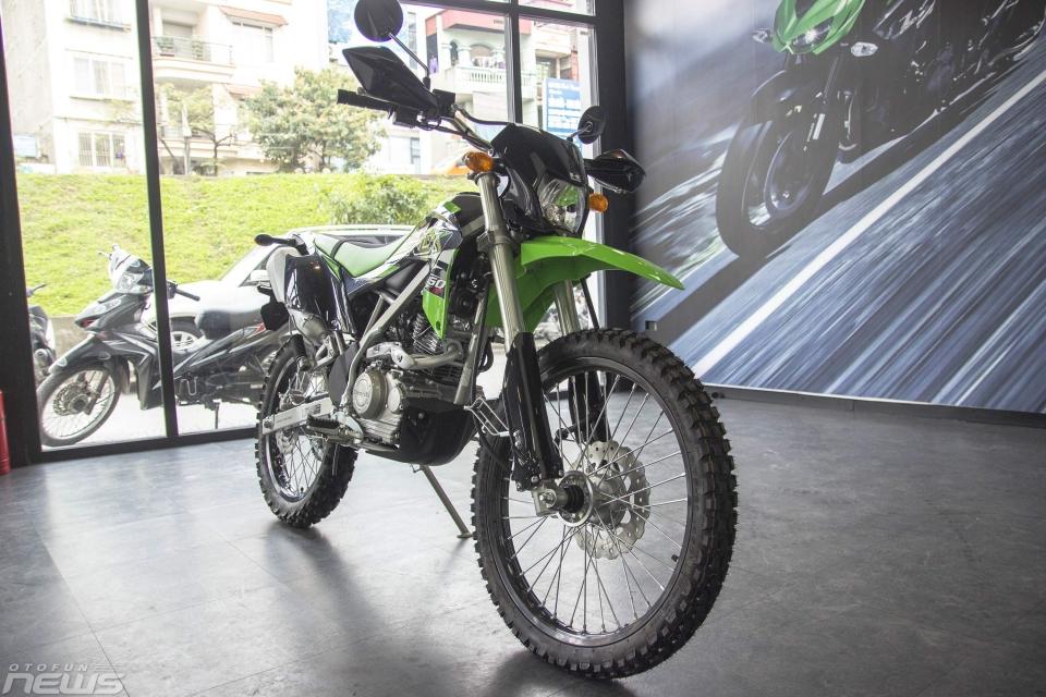 Thị trường xe - Kawasaki KLX 150 BF 2018 - 'Cào cào' giá rẻ tại Hà Nội (Hình 2).