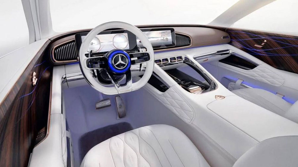 Thị trường xe - SUV đầu tiên của Mercedes-Maybach lộ 'ảnh nóng' (Hình 3).